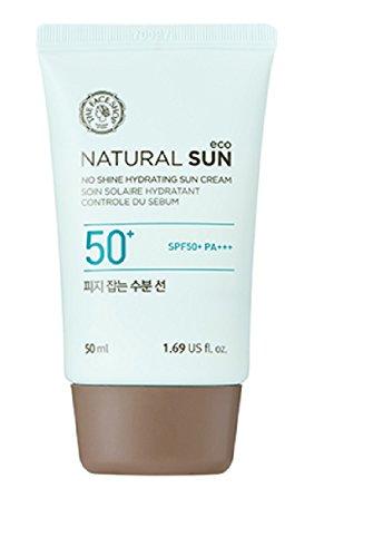 Spf 40 Sonnenschutz Creme (The Face Shop Natural Sun Eco Sebum Control Moisture Sun SPF 40 PA+++)
