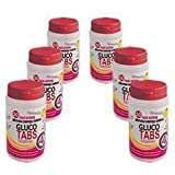 GlucoTabs Rasberry Multipack of 6 Pots (50 tablets/pot)