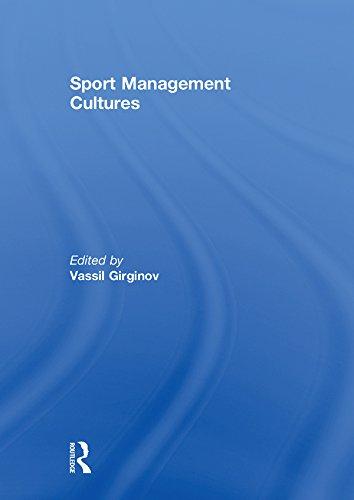 Sport Management Cultures