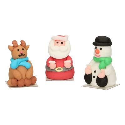 Figurine Natale in zucchero X3-Funcakes
