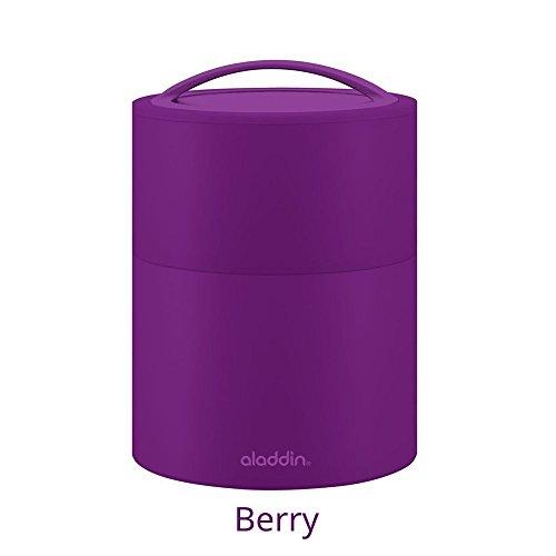 Aladin 135025 BENTO Lunch Box 0,95L Violette Plastique, Baie, 0,95 L
