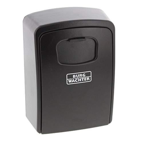 BURG-WÄCHTER Schlüsseltresor mit Zahlenschloss, Key Safe 40 SB, Stahl, Schwarz Stahl-safe