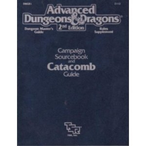 Campaign Sourcebook and Catacomb Guide/Dungeon Master's Guide/Rules Supplement/