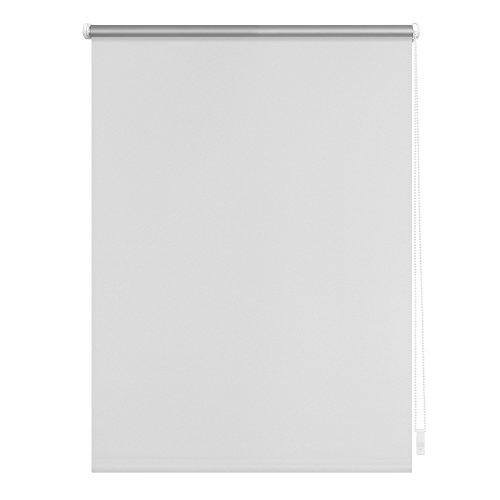 Lichtblick Thermo-Rollo, 100 cm x 150 cm (B x L) in Weiß, ohne Bohren, Sonnen-, Sicht-, Hitze- & Kälte-Schutz, reflektierende Thermofunktion, Klemmfix für Fenster & Türen