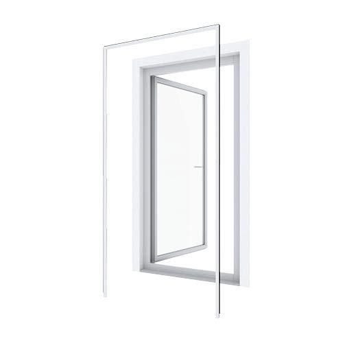pro insect Insektenschutz Montagerahmen für Türen 125x245cm, weiß