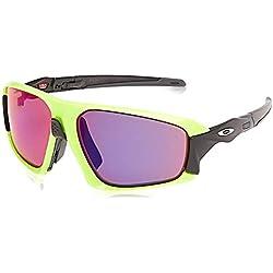 OAKLEY Field Jacket Gafas de sol para Unisex, Fluorescente/Negro, 0