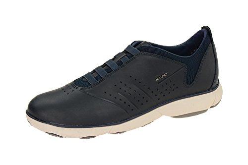 Herrenschuhe - sportliche Slipper - Halbschuhe - Geox NEBULA U72D7A 00085 C4002 Blau, EU 41
