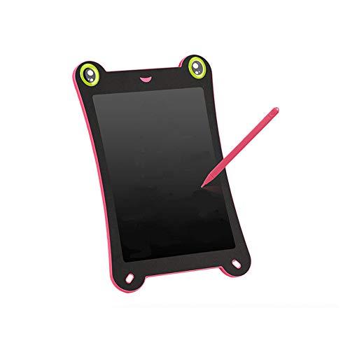 IMBM STYLE 8,5 Zoll Tragbare Smart LCD Malerei Pad Kinder Bunte Frosch-pad Reißbrett LCD Handschrift Schreibtablett für Kinder und Erwachsene,Pink Smart-lcd-pad