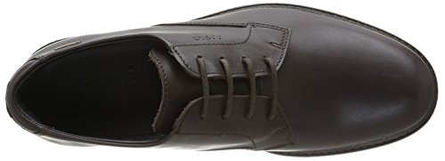 Aigle Britten Gtx, Chaussures de ville homme Marron (Dark Brown)