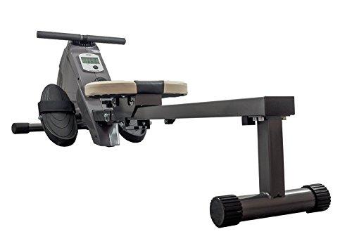 Rudergerät BODYCOACH ROWER 28651 - Ruderzugmaschine mit magnetischem Widerstand, Computer und Bluetooth-Brustgurt kompatibel zu vielen Fitness-Apps, klappbar, Rudermaschine für Zuhause