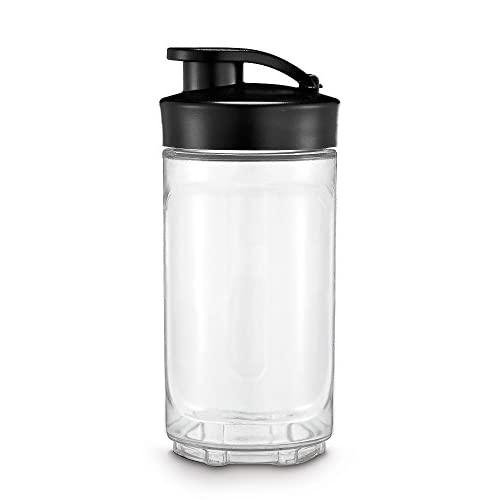 31FTN4ybiGL. SS500  - WMF 416940071 Kult X Mix & Go Bottle for Mix&Go 0,3 L, Plastic, 300 milliliters, Black/Transparent