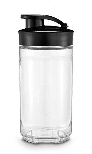 WMF Kult X Mix & Go Vaso Recambio Para Batidora, 0.3 litros, Tritan, Transparente/Negro