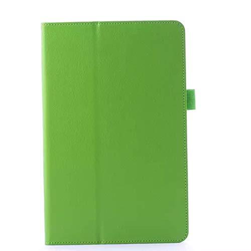 GOGODOG LG G PAD 10.1 Hülle Ultra dünn Stoßstange Ganzkörper Schutz Leder 10.1 Zoll Halterung Schutzhülle Tablet Halter Shell Protector LG V700 (Grün)