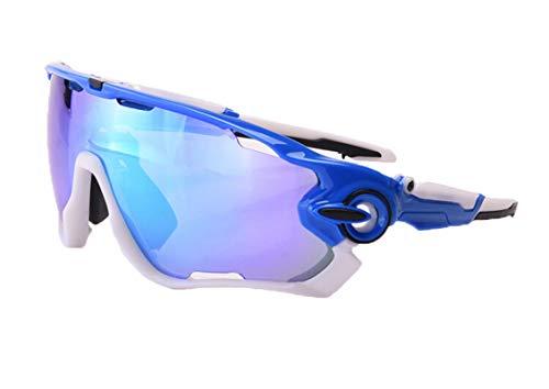 MaxAst Schutzbrille Taktisch Motorradbrille Nacht Schutzbrille Unisex Blau