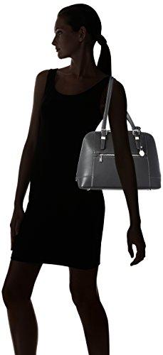 L.Credi - L.Credi, Borsa con Maniglia Donna Nero (Nero (nero))