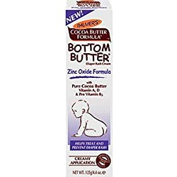 Bottom Butter - Zinc Oxide Diaper Rash - Helps Treat and Prevent Diaper Rash, 4.4 oz,(Palmer's) PACK OF 2