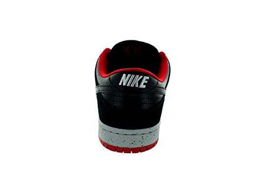 Nike Dunk Low Pro SB, Scarpe da Skateboard Uomo Nero / Grigio / Rosso (Black / Black-Wlf Gry-Unvrsty Rd-)