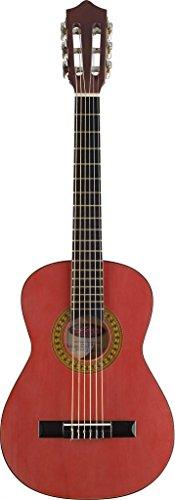 Stagg C530TR-Chitarra da concerto 3/4, Rosso