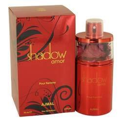 Shadow Amor Eau De Parfum Spray By Ajmal - 2.5 oz -