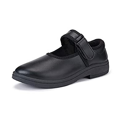 Super Girl's Formal Comfortable & Soft School Shoes Black