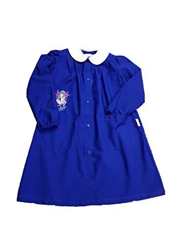 Ambrosino grembiule scuola elementare per bambina ragazza (art. g109s) (80-9 anni)