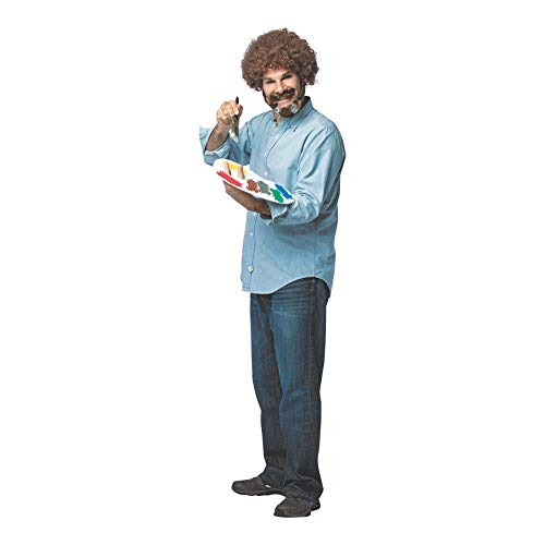 Morris Costumes Adult Bob Ross Kit Standard