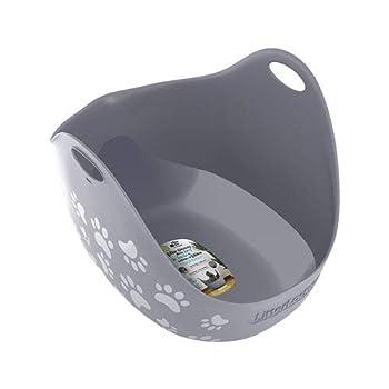 Bac à Litière LitterBox + Pelle pour Chat - LitterLocker - Gris