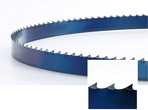 FAT M2 - Hoja de sierra de cinta (M2V, HSS, M42, 1325 x 13 x 0,65 mm, 10/14 dientes)