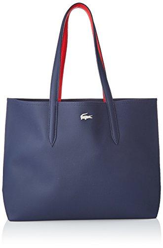 Lacoste femme Nf2142aa Cabas Bleu (Peacoat Rouge Salsa)