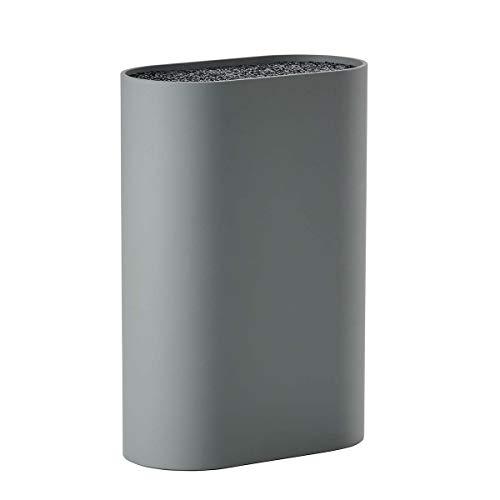 Zone - Messerblock - Singles - Polypropylen - cool Grey/grau - Höhe 24 cm