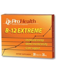 ProHealth, B-12 ExtremeTM - 30 sublingual tablets from ProHealth
