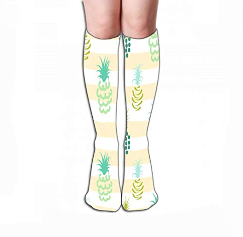 Xunulyn Hohe Socken Women's Men's Cool Colorful Casual Socks Casual Cotton Crew Socks Gift 19.7