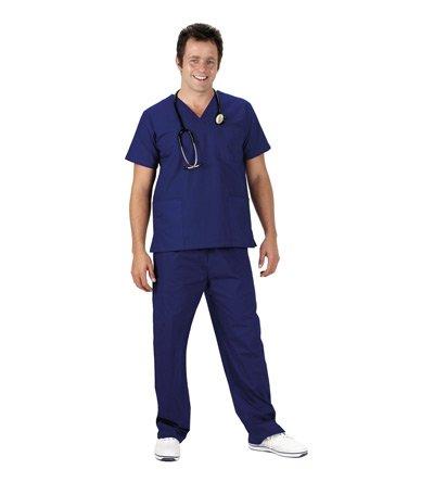 Qualität Krankenschwester NHS Premium Medical Scrubs–Farbe: marineblau (Scrub Krankenschwestern)
