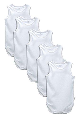 next Bebé Niño Niña Paquete De Cinco Camisetas Sin Tirantes (0 Meses-3 Años)