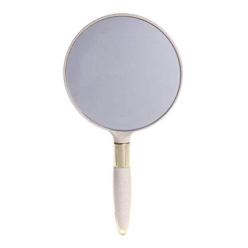 Ogquaton Niedlicher klassischer Plastikhandweinlese-Make-upspiegel-Eitelkeits-Rechteck-Dekorateur-erstklassige Qualität - Klassische Eitelkeit