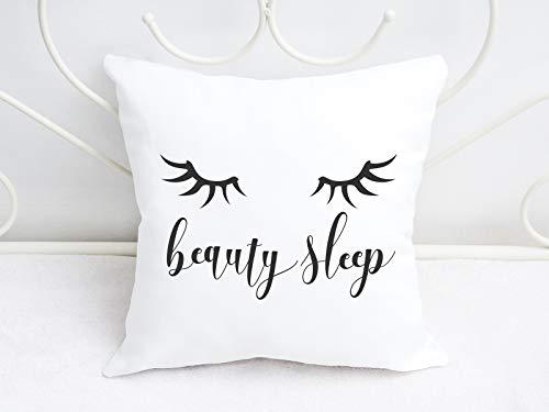 Kissen mit Spruch beauty sleep Kissenbezug - Kissenbezüge Sprüche