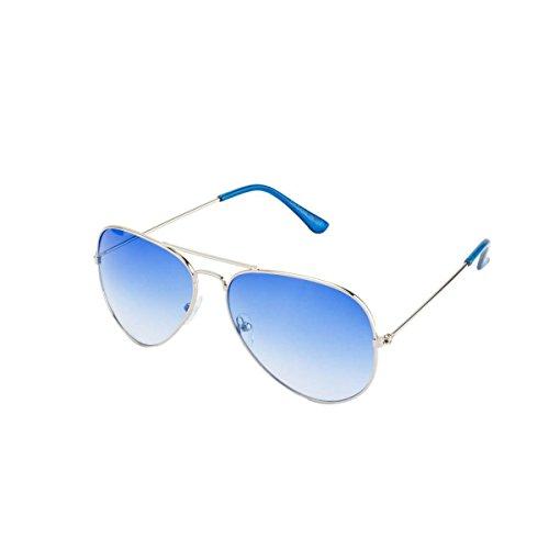 Froggy Men FG-BL-SKY-1 Blue Aviator Sunglasses