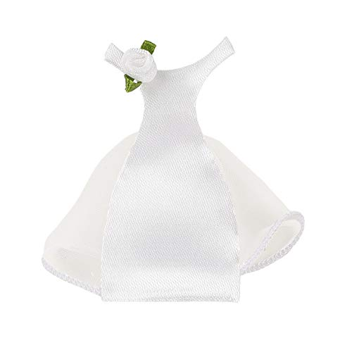 Original Kostüm Mariage - Mopec A83-Miniatur-Braut Kostüm, 12-er Pack