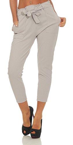 OSAB-Fashion 11567 Damen Hose Bundfaltenhose Business Büro Damenhose 7/8-Länge Festmode