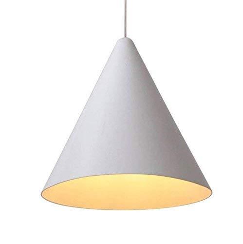 Moderne Pendelleuchte, Metall minimalistische Pendelleuchte, kann den Speisesaal hängende Beleuchtung, Restaurant Lichter, konische weiße Pendelleuchten, Decke hängende Leuchten heben -