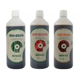Pack d'engrais Biobizz 500 ml