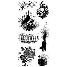 Unbekannt Inkadinkado Transparente saisonale Halloween-Stempel 10,2 x 20,3 cm