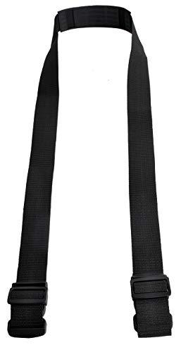 Iso Trade Schultergurt Tragegurt für Laufrad Roller Fahrrad universell passend schwarz 8616