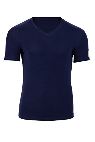 Dsquared² Herren Unterwäsche Undershirt RIB COTTON STRETCH, Farbe: Dunkelblau, Größe: L