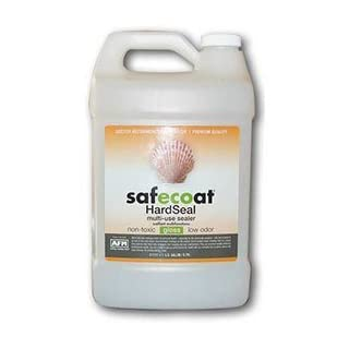 Afm Safecoat Hard Seal, White Gallon Can 1/Case by AFM Safecoat