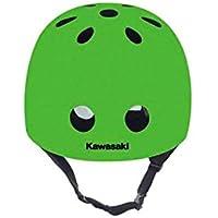 Kawasaki KX100471 Casco Protector, Unisex niños, Verde, ...