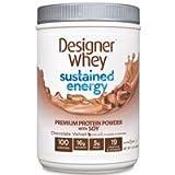Designer Whey Sustained Energy Chocolate Velvet Chocolate Velvet 12 Oz