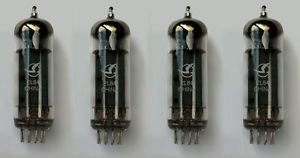 Jellyfish Audio EL84 Valvole Matched Quad per Peavey e altri amplificatori per chitarra/HiFi Vox AC30
