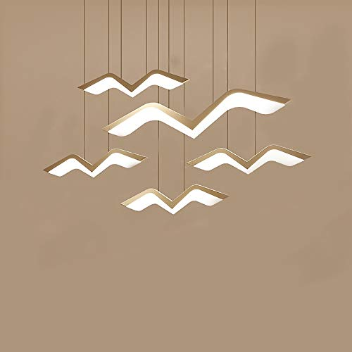 BICCQ Kronleuchter Moderne Minimalistische Mode Möwe Kronleuchter Kreative Led Kunst Wohnzimmer Esszimmer Kronleuchter Mode Bar Lampe