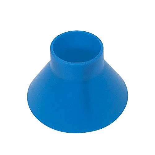 AnySell extérieur Rond Grattoir Pare-Brise Pelle à Neige Scraper Entonnoir en Forme de cône d'hiver de Voiture Outil Snow Remover (05-08 Bleu)